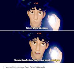 Big Hero 6 - A uplifting message from Tadashi