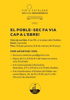Poble Sec #ViaCatalana #11s2014
