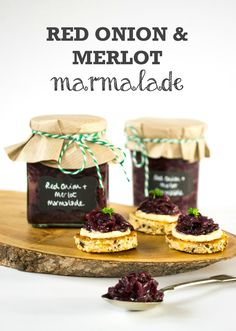 Red Onion & Merlot Marmalade