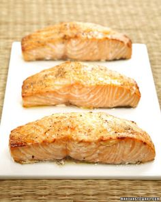 Ginger Roasted Salmon | Martha Stewart