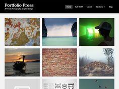 Portfolio Press – Free WordPress Theme