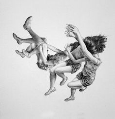Leah Yerpe's Drawings Of Floating Bodies | Beautiful/Decay Artist & Design