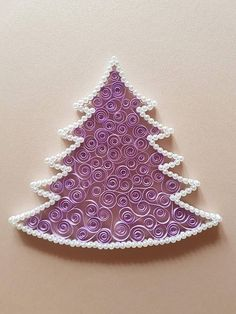 Quilled Christmas Tree Ornament