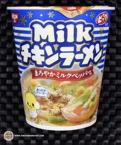 #1991: Nissin Cup Noodle Milk Chikin Ramen - The Ramen Rater reviews this seasonal Cup Noodle instant ramen from Japan