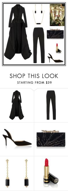 """""""Hi-Low Jacket"""" by rboowybe ❤ liked on Polyvore featuring Brandon Maxwell, Paul Andrew, Jimmy Choo, David Yurman and Gucci"""