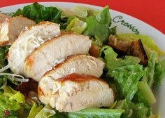 SOSCuisine: Grilled-Chicken Caesar Salad