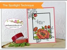 The Spotlight Technique with Birthday Blooms by Stampin Up. - Stampin With Sandi - Canadian Stampin Up Demonstrator