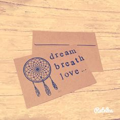 Mini inspirational cards special note card by Dorkanddorkettecards