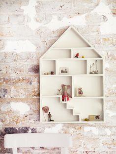Cute Dolls House Shelf - Kids Room