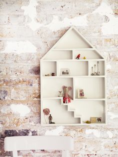 Cute Dolls House Shelf - Kids Room