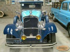 De Soto Six Roadster 1930 – Maxicar.com.br – Carro antigo, pura nostalgia.