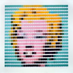 Artistic masterpieces rendered in Pantone swatches   Dangerous Minds