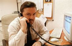 UK Office: David Brent (Ricky Gervais)