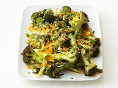 Roasted broccoli - If you're looking for a way to spruce up broccoli on your Thanksgiving table this year, try roasting it like in this week's