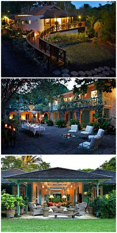 Fustic House St. Lucy Barbados Perfect for Corporate Retreats and Weddings Villa designed by Oliver Messel. #wimcovillas