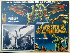 1965's Invasion of the Astro-Monster via Mexico