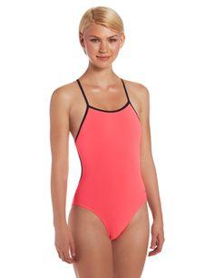 Amazon.com: Speedo Women's Solid Reversible Fresh Back Endurance Lite Swimsuit: Clothing