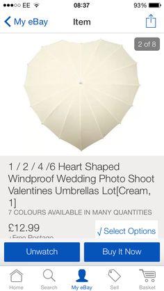 Heart umbrella :)