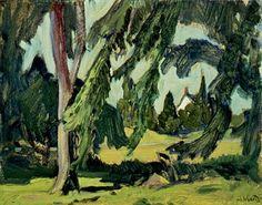 Elms by J.E.H MacDonald Canada Landscape, Landscape Art, Landscape Paintings, Landscapes, Canadian Painters, Canadian Artists, Impressionist Art, Impressionism, Group Of Seven