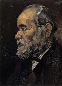 Ritratto di un vecchio con la barba, 1885, olio su tela, Vincent Van Gogh. Rijksmuseum Vincent van Gogh, Amsterdam, Paesi Bassi.