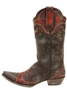 "Old Gringo Taka Stud 13"" Black Womens Boots -- M Old Gringo"