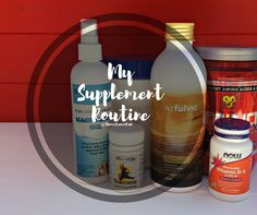 My Supplement Routine, what and why? + WIN - Move Love Eat - Health and Fitness Blogger