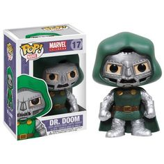 Amazon.com: Funko POP Marvel Bobble Figure, Dr. Doom: Toys & Games