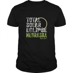 Awesome Tee Nebraska Total Solar Eclipse August 21 2017 State TShirt T-Shirts