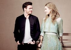Lily James and Richard Madden during the Cinderella Portraits Session, Pretty People, Beautiful People, Cinderella Movie, Cinderella 2015, Have Courage And Be Kind, Celebrity Stars, Richard Madden, Lily James, It Movie Cast