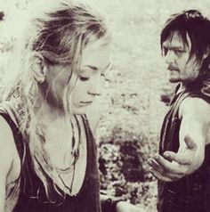 Emily Kinney, Norman Reedus Both Post Daryl and Beth Flashback Photos — Season 5 Hints