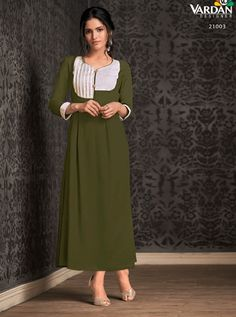 VARDAN D.NO.-21003 RATE : 601 - MIRAAZ VOL-1 BY VARDAN DESIGNER  VARDAN 21001 TO 21008 SERIES  STYLISH COLORFUL FANCY BEAUTIFUL CASUAL WEAR & ETHNIC WEAR HEAVY RAYON LONG KURTIS AT WHOLESALE PRICE AT DSTYLE ICON FASHION CONTACT: +917698955723 - DStyle Icon Fashion
