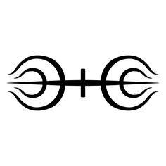 Senju Symbol.svg ❤ liked on Polyvore featuring tattoos