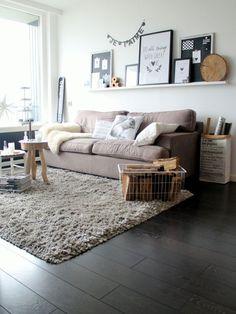 het Dijkhuisje | Inspiratie voor de woonkamer | http://www.hetdijkhuisje.nl