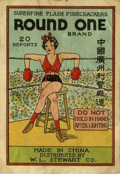 Superfine Flash Fireworks Labels.......I totally feel like the girl in the picture.