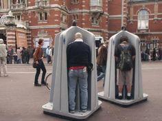 Amsterdam: férfi utcai WC... - Hát ez Cumi