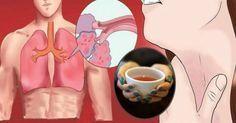 Infusión para expulsar por completo las flemas de los pulmones y cura el asma de manera natural.