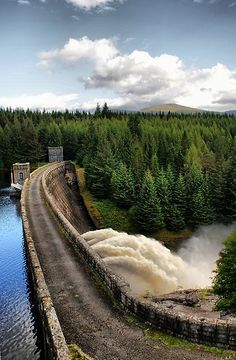 Laggan Dam is a dam located on the River Spean south west of Loch Laggan in the Scottish Highlands