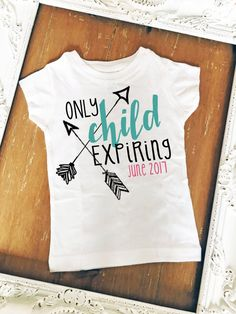 Only Child Expiring Soon Big Brother Big Sister by MackiejoandCo