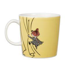 Moomin Little My mug Moomin Mugs, Classic Dinnerware, Tea And Books, Tove Jansson, Cool Mugs, Little My, Marimekko, Finland, Tea Pots