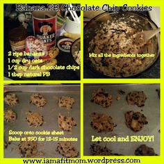 These are DELICIOUS! 21-day fix approved! 2 cookies = 1 yellow
