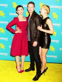 """In this pose, Jen runs up to Ginny and Josh and starts tugging on his arm in the middle of their picture going """"Daddy, Daddy, DADDY!"""" she starts laughing, josh turns and says """"Emma not right now, mommy and I are taking pictures"""""""