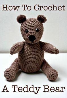 Free Crochet Teddy Bear Pattern - Crochet Amigurumi - 225 Free Crochet Amigurumi Patterns - DIY & Crafts