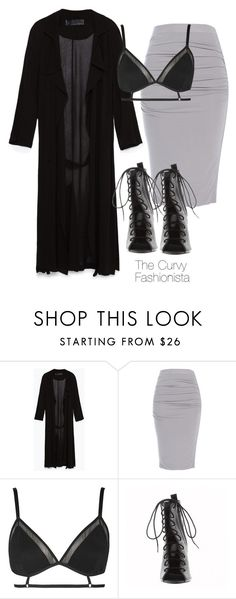 """""""Untitled #558"""" by thecurvyfashionistaa ❤ liked on Polyvore featuring Zara and Topshop"""