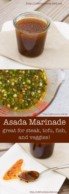 Carne Asada Marinade Great for steak, Fish, Tofu, mushrooms, or veggies of any kind!