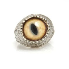 Wild Cat Evil-Eye Ring