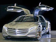 빨리 감기 - 상상 - 더 - 미래 자동차 - 중 - 2050 - 메르세데스 - 벤츠-F125-개념