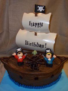 Pirate cake #cakes, #food, https://apps.facebook.com/yangutu