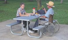 Wheelchair Accessible Outdoor Furniture | Patio Furniture Articles
