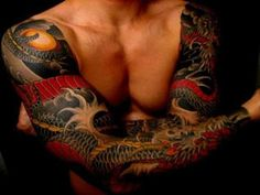 Sleeve Tattoo Designs - Dragon, Tribal, Celtic, and Japanese Tattoos on Your Arms