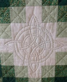 Driftwood Irish Chain quilt 2012